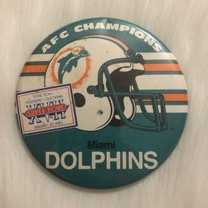 🔮 5/$25 83 Vintage Miami Dolphins Super Bowl Pin